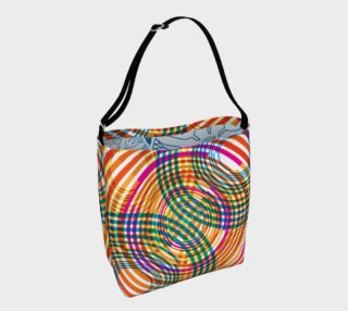 Aperçu de technicolor ripples day tote