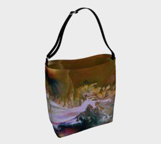 Aperçu de Golden Flowers Tote Bag