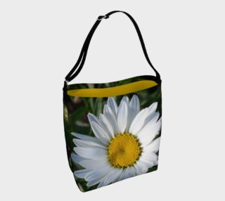 White Daisy Day Tote Bag preview