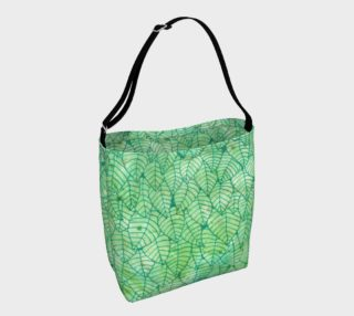 Green foliage Day Tote preview