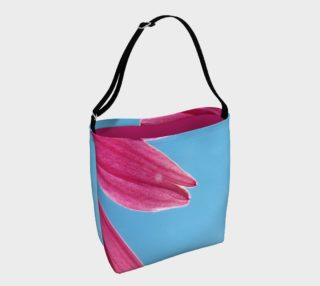Cone Flower and Blue Day Tote Bag preview