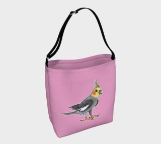 Aperçu de Cockatiel bird Day Tote