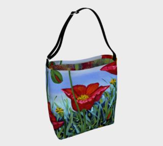 Big Poppy Tote aperçu
