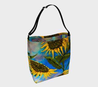Aperçu de Vibrant Sunflowers Tote