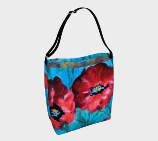 Linda's Poppies Tote preview
