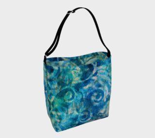 Aperçu de Blue Swirl Tote