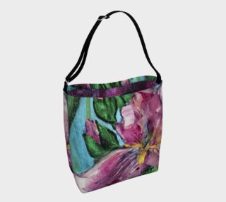 Aperçu de Pink Irises  Tote