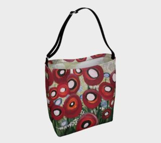 Whimsical Poppy Tote preview
