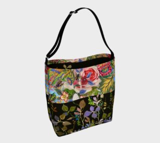 Bohemian Bee Garden Day Tote preview