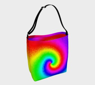 Tie-Dye Rainbow Swirl preview