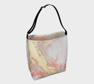 Coral Metallic Royalty Tote preview