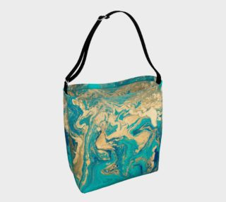 Golden Jade Tote Bag preview