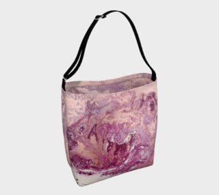 Purple Copper Majesty Tote Bag preview