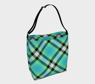 Blue green and black plaid preview