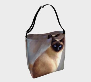 Aperçu de Cat 613 tote bag