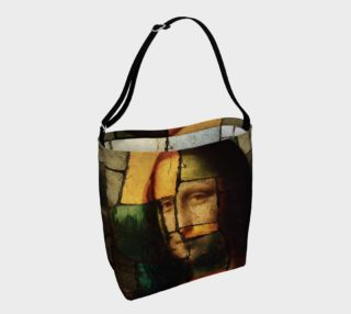 Pop Art Mona Lisa Day Tote preview