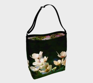 Spring Anemone - Mixed perennial floral Day Tote preview
