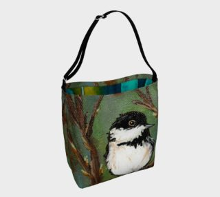 Chickadee Bird Tote preview