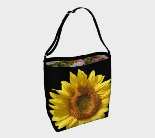 Sunflower - Mixed Perennial Floral Day Tote preview