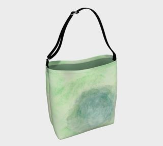 Green Dimension Flower Day Tote preview