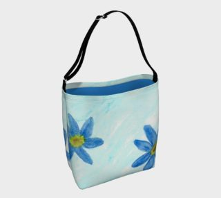 Simply Blue Flowers Day Tote preview