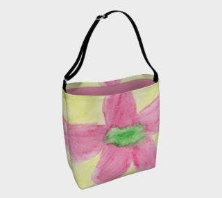Pink Flower Blossom Day Tote preview