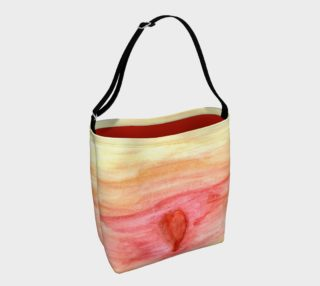 Radiating Heart Day Tote preview