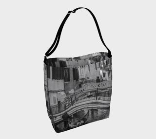 Black & White Venice Day Tote preview