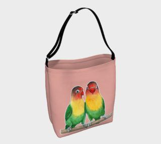 Fischer's lovebirds Day Tote aperçu