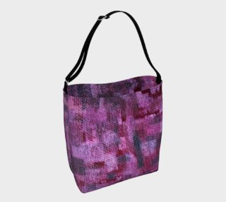 Abstract Mosaic Pink Tote aperçu