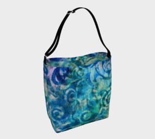 Blue Swirl 2 Tote preview