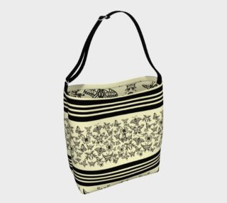 BKC Black Butterfly Day Tote 2 preview