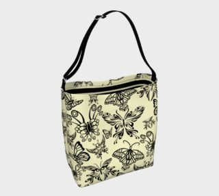 Black Butterfly Day Tote 3 preview