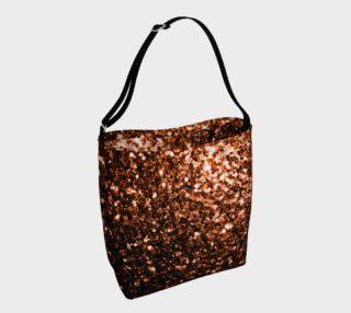 Beautiful Bronze Orange Brown glitters sparkles aperçu