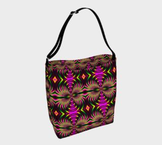 Psychedelic Flamingo Day Tote preview