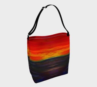 Abstract Sunset V1 Tote Bag preview