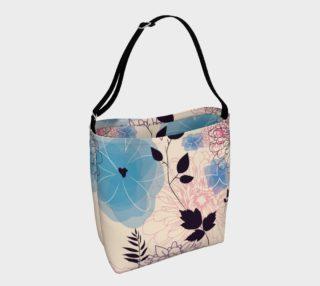 Gorgeous Vintage Floral Tote Bag aperçu