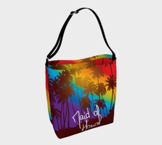 Tropical Maid of Honor tote bag preview