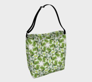 Organic Green Pattern Day Bag preview