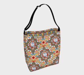 Heraldic Lovebird Tote Bag preview