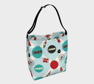 Cute London Tote Bag preview