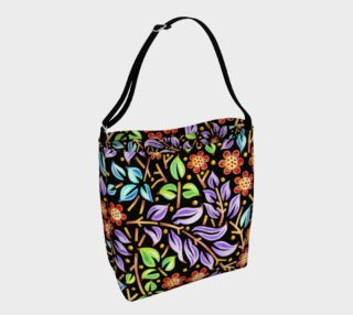 Filigree Floral Tote Neoprene Bag preview