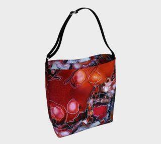 Aperçu de Hot Lava Tote Bag