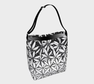 Flower of Life Transforming Ombre Tote Bag preview
