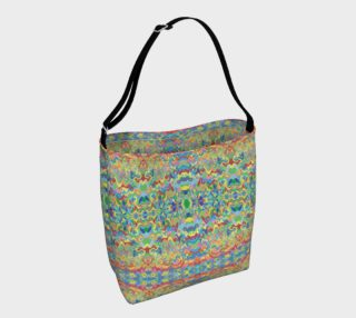 Abstract Hills Pattern Day Bag preview