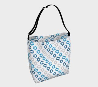 Star of David Hanukkah Tote 1 preview