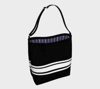 Josephina Sporty Tote (lavender inside) preview