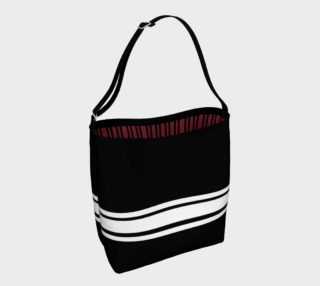 Josephina Sporty Tote (rouge red inside lining) preview