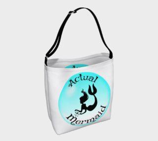 Actual Mermaid Tote Bag preview