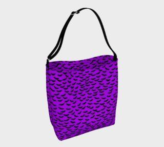 Bats in the Belfry-Purple Tote Bag preview